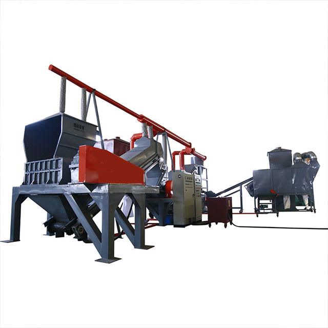 Automatic Waste Radiator Recycling Crushing Separating Machine