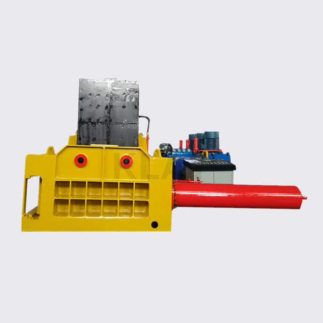 Industrial Hydraulic Scrap Ferrous Metal Recycling Baler Machine