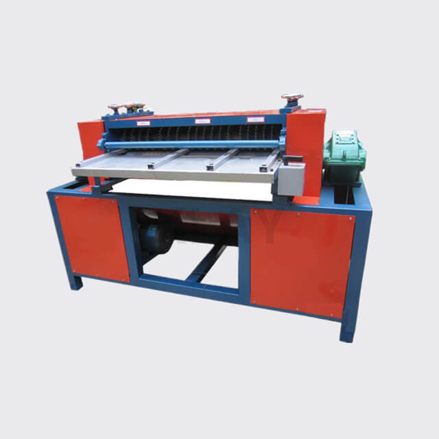 Manual Copper Aluminum Radiator Separator Recycling Machine