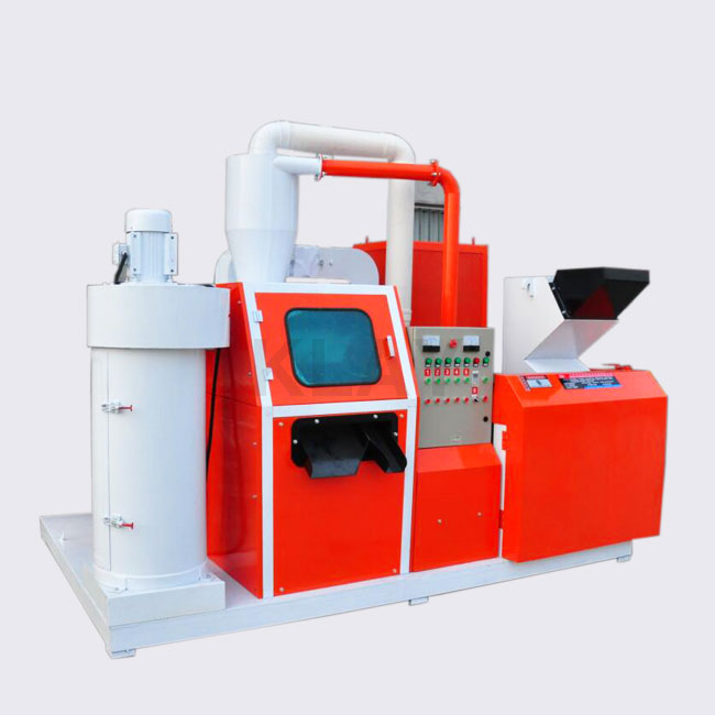 Advanced Compact Waste Copper Wire Chopper Granulator Machine