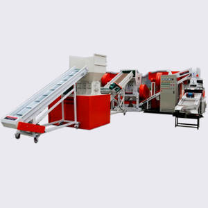 Full Line Scrap Cable Wire Shredder Granulating Machine